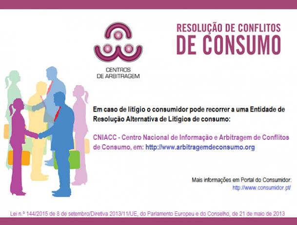 Entidade de Resolução Alternativa de Litígios de consumo