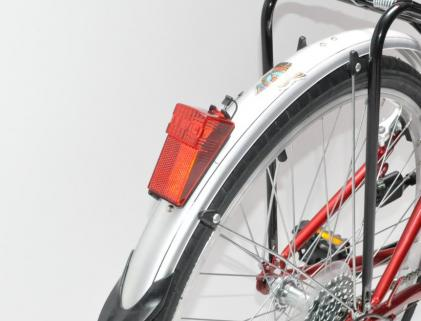 City Bike 26 SH - SIS Triple - Guarda lamas LUZ